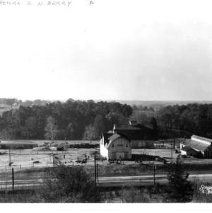 North Carolina State College dairy barns