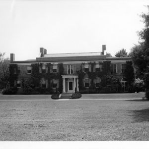 Chancellor's residence, North Carolina State College.
