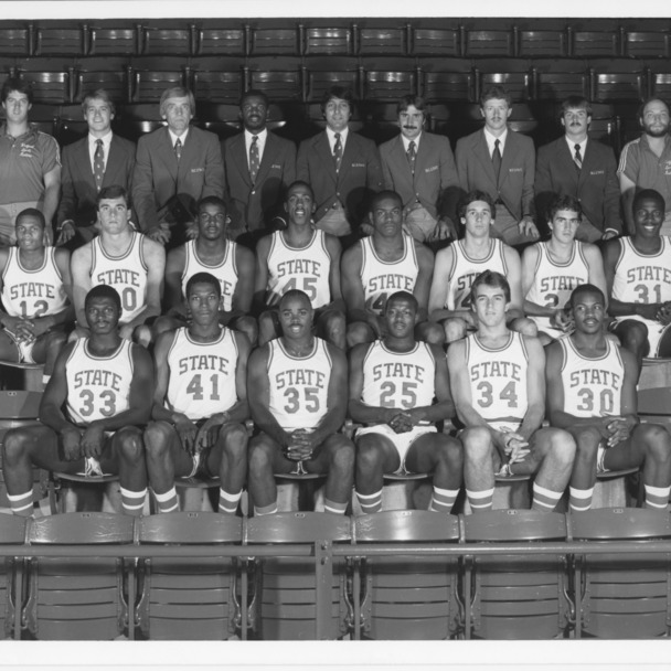 1983 N.C. State University Wolfpack, NCAA champions, Atlantic Coast Conference champions.