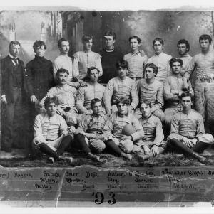 Football team, North Carolina College of Agriculture and Mechanic Arts, 1893