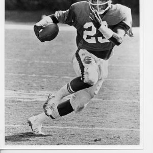 North Carolina State University all-American running back Ted Brown