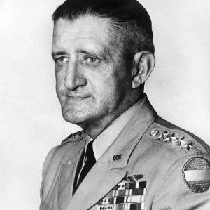 General John R. Hodge portrait