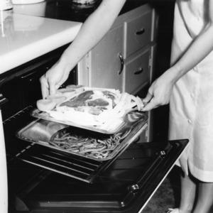 North Carolina - Home Demonstration Clubs - leader training - broiler meals