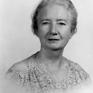 Mrs. George Apperson, North Carolina Home Demonstration club member from Davie County