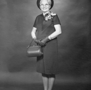 Mrs. C. M. Foster, State President, North Carolina Extension Homemakers Association, 1967