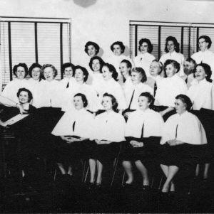 Durham County Home Demonstration Chorus