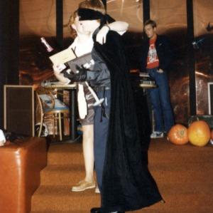 Cadet dressed in costume