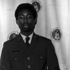 Cadet Bernard Hayes portrait