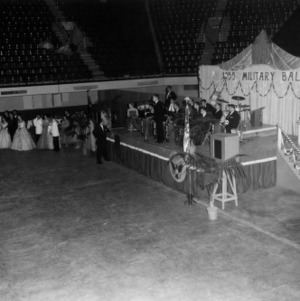 Cadets attending a military dance