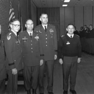 Four Army generals visit NC State
