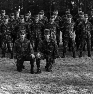 NC State ROTC group photo