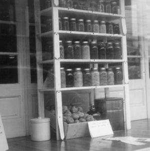 Display on storage in Elizabeth City, North Carolina, from June 19th-26th, 1944