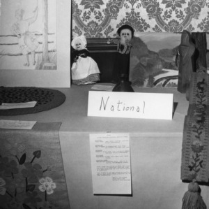 Display at the North Carolina State 4-H Council meeting held at the Blockade Runner in Wilmington, North Carolina, in 1973