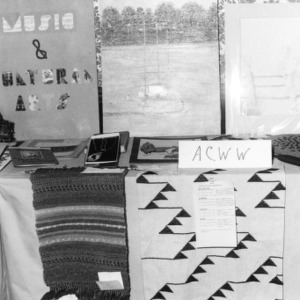 Display at the North Carolina State 4-H Council meeting of 1973 held at the Blockade Runner in Wilmington, North Carolina