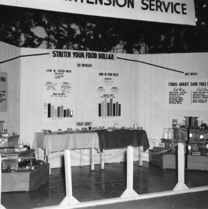 Stanly County Extension Service exhibit