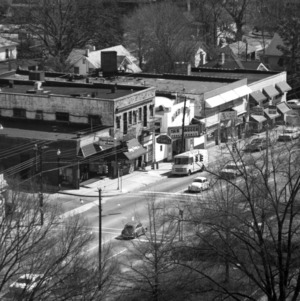 Aerial view of Hillsborough Street