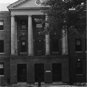 Entrance to Berry Residence Hall, North Carolina State University