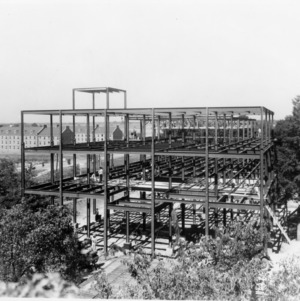 Diesel Building, construction