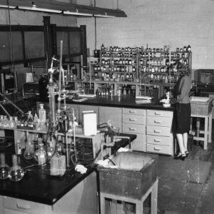 Bureau of Mines laboratory