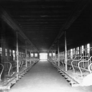 Dairy Barn, interior