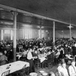 Pullen Hall, dining hall
