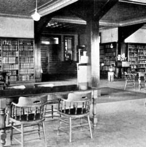 Pullen Hall, library