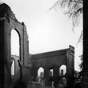 Pullen Hall, ruins