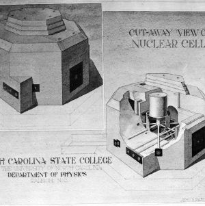 Burlington Engineering Labs, nuclear cell drawing