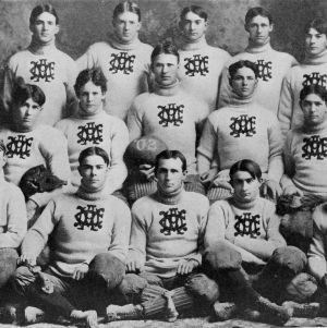 North Carolina College of Agriculture and Mechanic Arts 1902 football team group photo