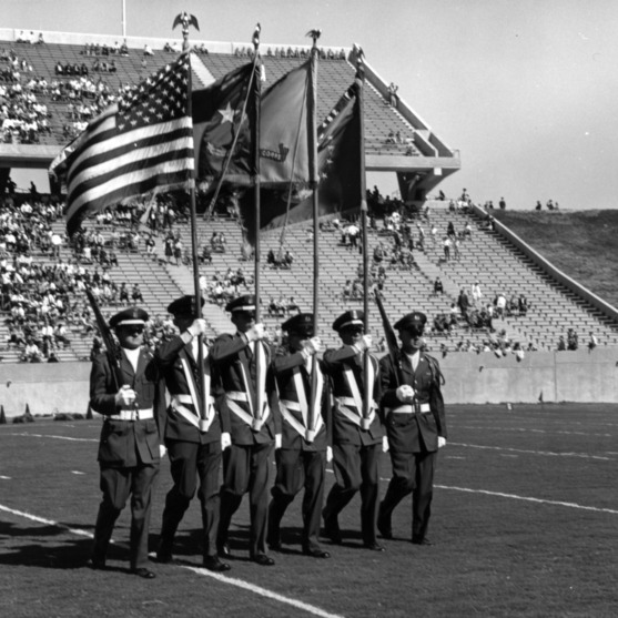 Carter-Finley Stadium, color guard
