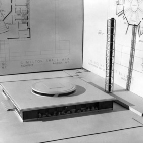 Burlington Engineering Labs, architectural model