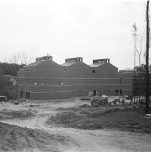 Centennial Campus, first building construction