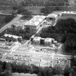 Centennial Campus, overhead view