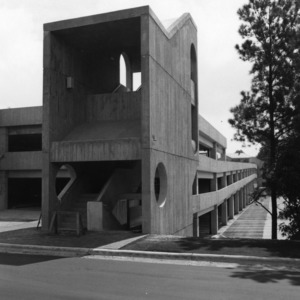 Coliseum Parking Deck, stairway