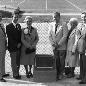 Paul Derr Track dedication