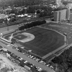 Doak Baseball Field, overhead view
