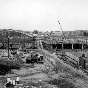 Carmichael Gymnasium, construction