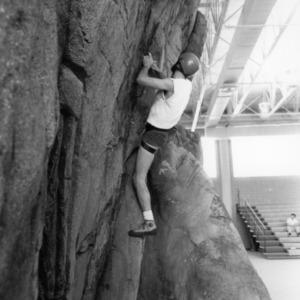 Carmichael Gymnasium, rock climbing
