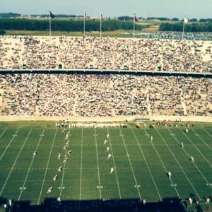 Carter-Finley Stadium, opening day