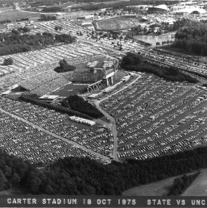 Carter-Finley Stadium, aerial shot