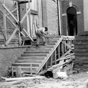 Danforth Chapel, construction