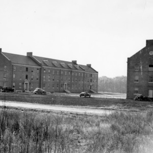 Alexander and Turlington Residence Halls, North Carolina State College, November 1, 1940