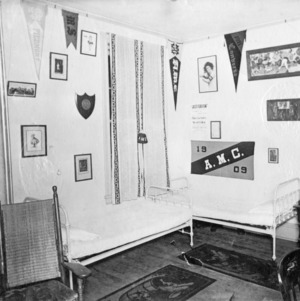 N.C. State dormitory, interior