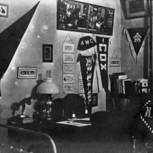 N.C. State dormitory, interior