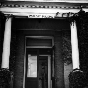 Front door of the Zoology Building
