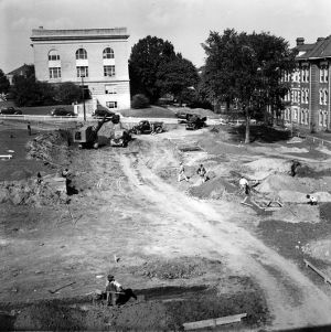 Withers Hall, construction