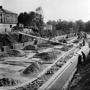 Construction of Eight and Ninth Dormitories
