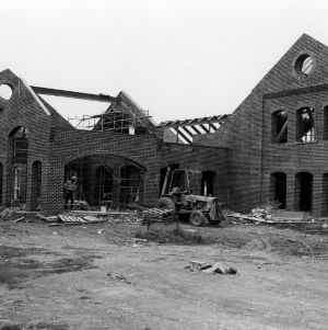 Fountain Dining Hall, construction