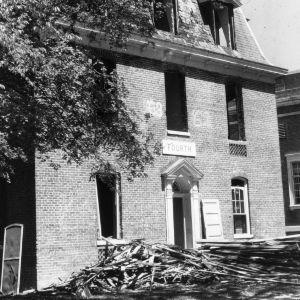 Fourth Dormitory, demolition
