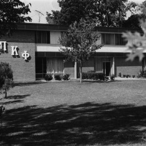 Pi Kappa Phi house on Greek Court